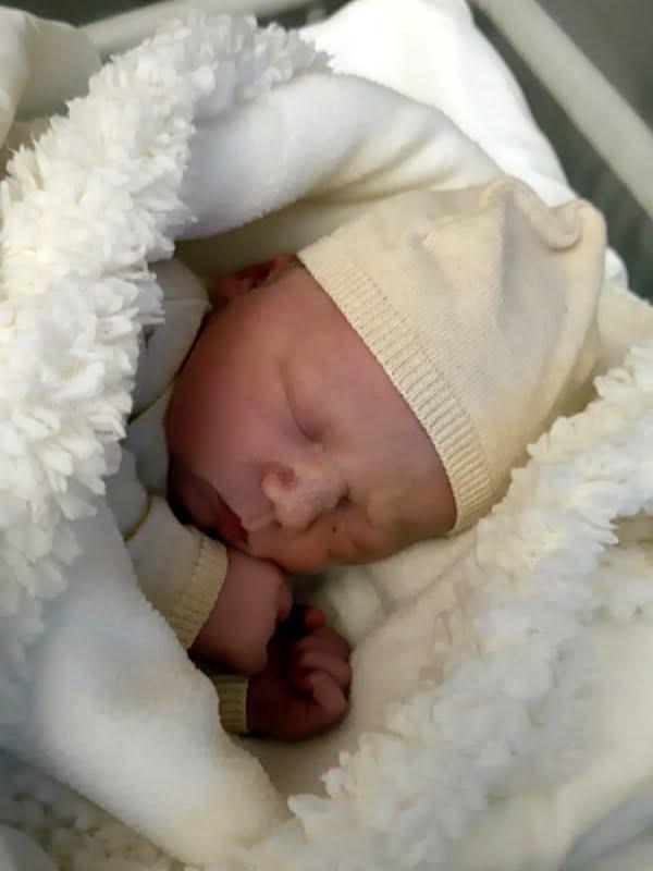 Geboorte Jan, zoon Benthe Visser